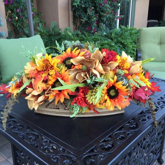 Mantel Arrangements: Fall Mantle Floral Arrangement Mantle Floral Arrangement