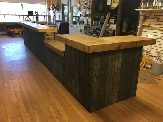 The Survey 20 Rustic Custom Sales Counter Or Reception