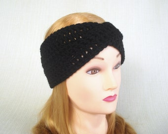 Winter headband Crochet Turban headband Crochet headband ear warmer Womens headband Crochet head bands Hand crochet earwarmer head wrap