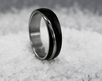 Men's Ring - Men's Stainless Steel Ring - Men's Wedding Band - Men's Wedding Ring - Men's Classic Ring - Men's Anniversary Ring