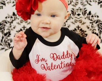 im daddys valentine raglan valentines day shirt toddler girl baby girl