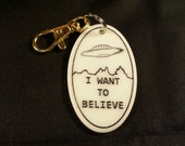 I want to Believe Keychain - X-Files