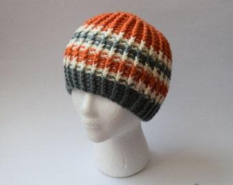 Ribbed Beanie (Crochet)