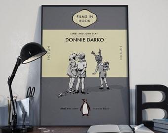 Donnie Darko Penguin/Ladybird Book cover Art Print