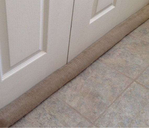 Extra long door draft stopper draught excluders home decor for Door draft excluders