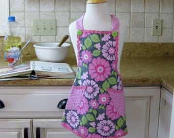 Girls Apron, Kids Apron