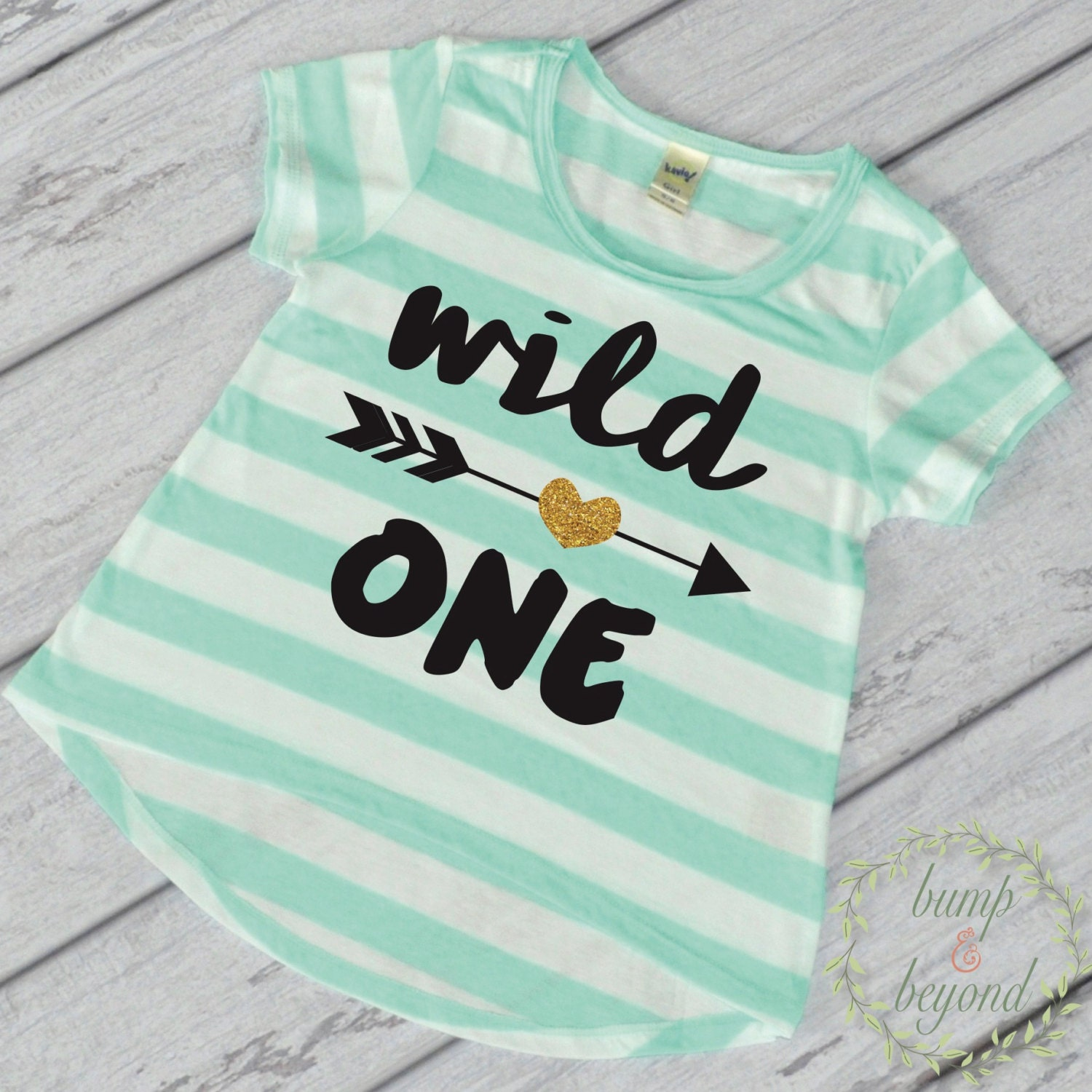 1st Birthday Girl Outfit First Birthday Girl Shirt Wild One