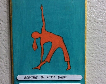 Yoga Plaques - Breathe