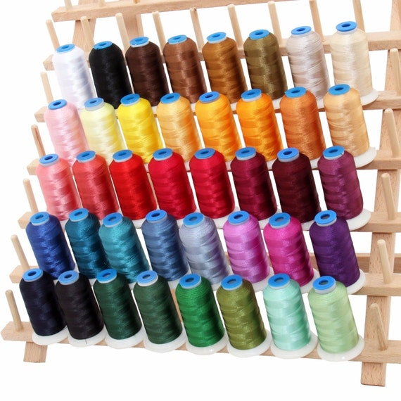 Rayon machine embroidery thread set a big m cones