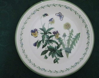 4 , like new Studio Nova Garden Bloom vintage plates made in Thailand