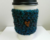 Coffee Cup Sleeve Cozy Take Out Coffee Cup Sleeve Cozy Coffee Cup Sleeve Take Out Cup Sleeve Blue Coffee Cup Sleeve Cozy