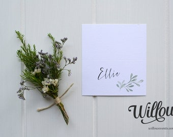 Olive Grove Place Card