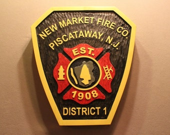 CUSTOM WOOD SIGNS | Fire Dept Signs | Firefighter Signs | Fireman Signs | City Signs | Park Signs | County Signs | Business SIgns |