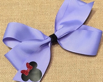 Colorful Bows with Vinyl Minnies