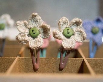 Pippa - Handmade Crochet Hairclips