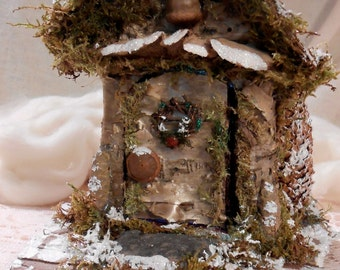 Faerie House Christmas in the Faerie Forest