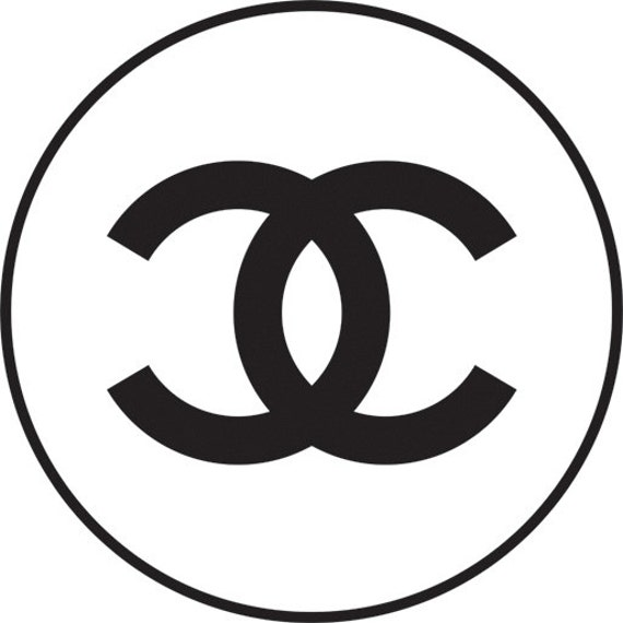 chanel vinyl decals chanel logo stickers by agitasworks