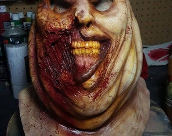 Big zombie latex mask