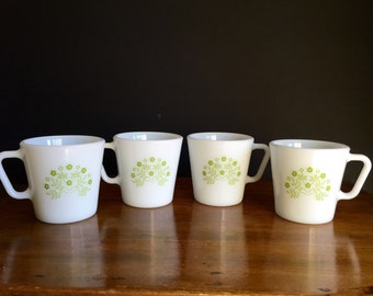 Pyrex Coffee Mugs / Pyrex Cups Summertime