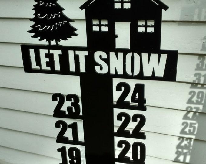 Outdoor Cabin Snow Meter