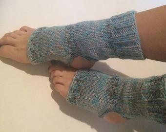 Yoga Socks Hand Knit Pilates Socks multicolor  Socks Dance Socks Slipper Socks Women  Socks  Colorful Hipster Socks Yoga active wear