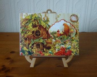 Fantasy Woodland Birthday Card