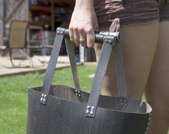 Heavy Duty Tote from Bag Recycled Materials