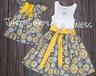 Mommy and Me Dress, Mommy and Me Outfits, Mother Daughter Matching dress, mommy and me, mother daughter dress, Girls summer dresses, match