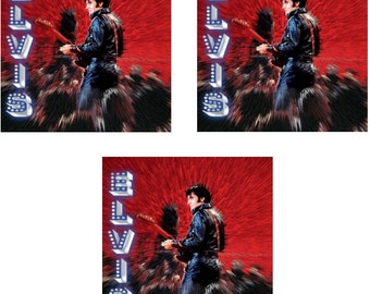 Elvis Presley - Shine – Set of 3 Greeting Cards - Free Shipping