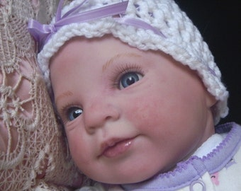 CHRISTMAS IN JULY Holly by Donna Rubert Custom Reborn Doll Little Darlins Nursery Rita Meese Artist