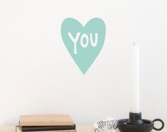 Heart You | Wall sticker