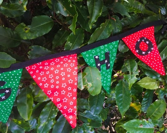 Christmas Bunting, Party Garland, Mature Content, Home Decor, Adult Party Garland, Adult Birthday, Fabric Bunting, Word Banner, Funny Banner