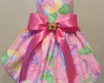 Pretty Butterfly Dog Dress