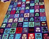 Star Wars Stormtrooper Crochet Blanket Pattern