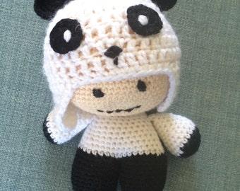 Panda big headed baby