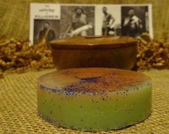 Shave Cream Soap & Wood Shave Bowl shaving gift unique mens gift valentines shave soap