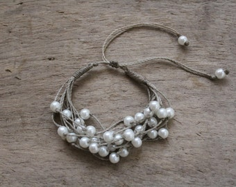 Adjustable Cord Bracelet