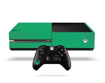 Xbox One Vinyl Wrap: Matte Green