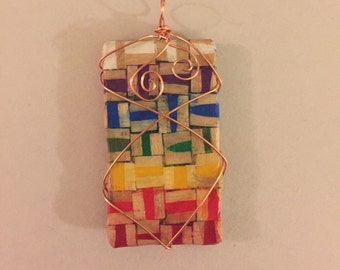 Colored Pencil Pendants