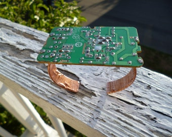 Circuitboard Copper Cuff