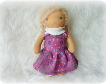 "Lilja 9"" Waldorf inspired Doll"