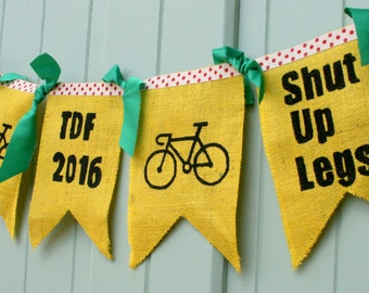 Cycle France Tour de France Bunting Garland Decoration