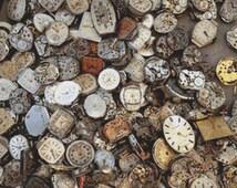 Clocks PDF Cross Stitch Pattern