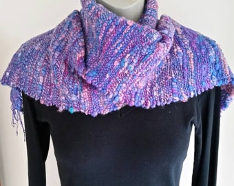 Silk and Wool Hand Woven Scarf