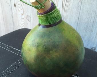 Pirate rum bottle gourd