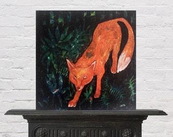Red Fox, original painting