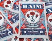 Haim - Concert Poster