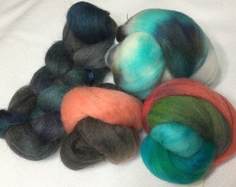 Hand Dyed Wool Sampler, Trial Size, 10563