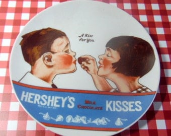 1979 Hershey's Kisses collector plate.  A Kiss for you