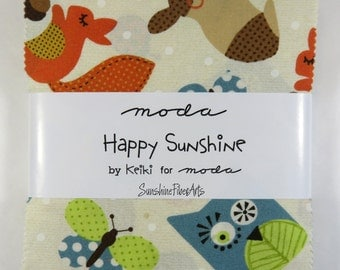 "Happy Sunshine - Keiki - Moda - 42 Pieces - 5"" Squares - Charm Pack - 32730PP"